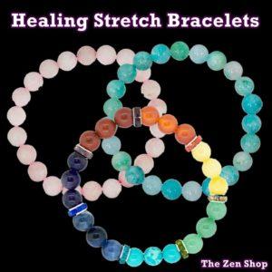Elastic Stretch Gemstone Bracelets