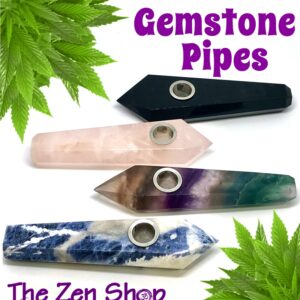 Gemstone Pipes