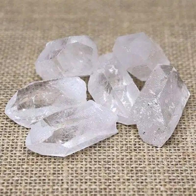 clear quartz points Crystal