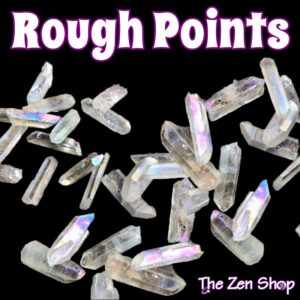 Crystal Gemstone Rough Points