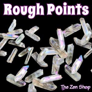 Rough Crystal Gemstone Points