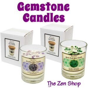 Gemstone Soy Candles