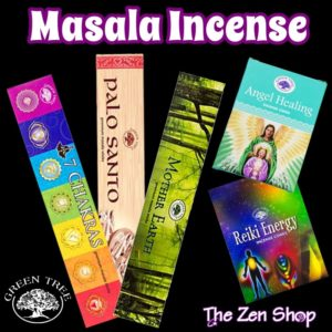 Green Tree Masala Incense