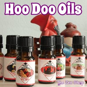 Motor City Hoo Doo Oils