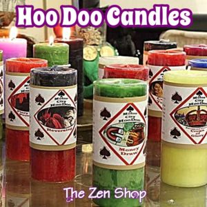 Motor City Hoo Doo Candles