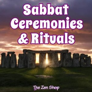 Stone Henge with Sabbat Ceremonies and Rituals text