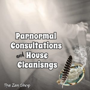 Ghost and sage to represent Parnormal Energy Consultants House Cleansings and Spirit Removal