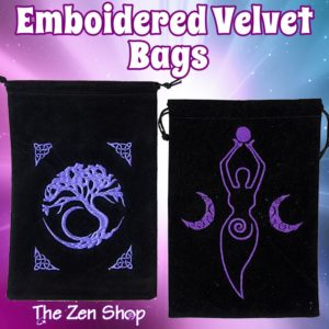 Embroidered Velvet Bags