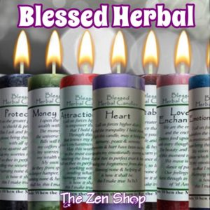 Blessed Herbal Candles