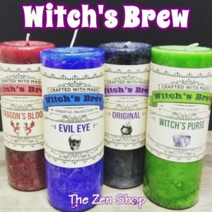 Witch's Brew Candles