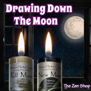 Drawing Down The Moon Candles