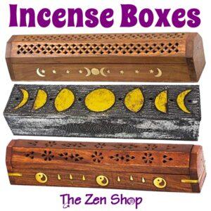 Incense Burner & Storage Boxes
